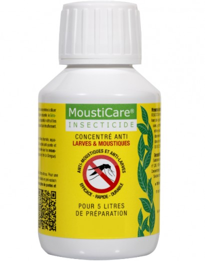 Mousticare mousticare concentr anti larves moustiques la solution pour traiter maison et - Produit anti moustique pour jardin ...