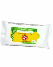 MoustiCare® Wipes Anti-Mosquitoes